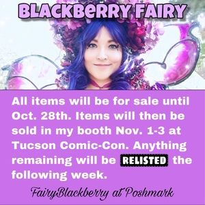 Blackberry Fairy of Faeriedale